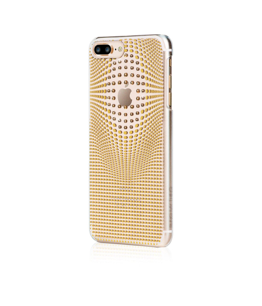 WARP COLLECTION - GOLD for iPhone 8 Plus case - Bling My Thing