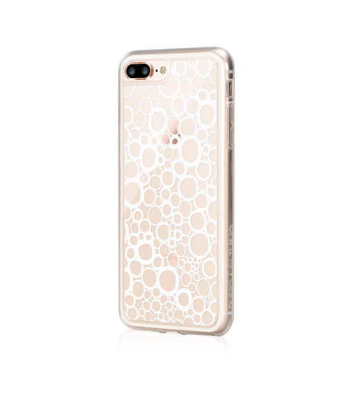 BUBBLES, Hybrid Case with Bumper, Expression, iPhone 8 Plus