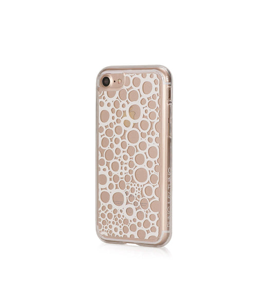BUBBLES, Hybrid Case with Bumper, Expression, iPhone 8