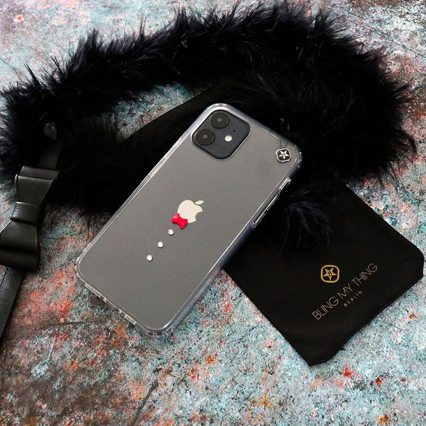 CASINO ᛫ CLEAR ᛫ Cover with Swarovski® Crystals for iPhone 12 - Bling My Thing - Swarovski Protective iPhone Case