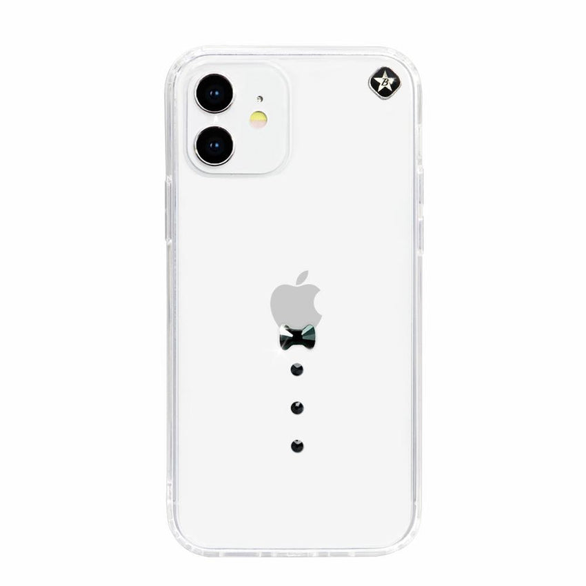 CASINO ᛫ CLEAR ᛫ Cover with Swarovski® Crystals for iPhone 12 - Bling My Thing