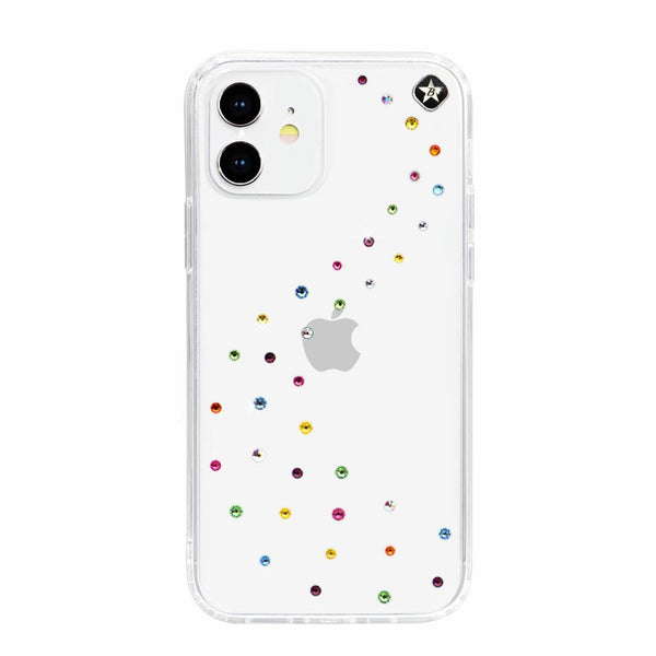 MILKY WAY ᛫ CLEAR ᛫ Cover with Swarovski® Crystals for iPhone 12 - Bling My Thing - Swarovski Protective iPhone Case