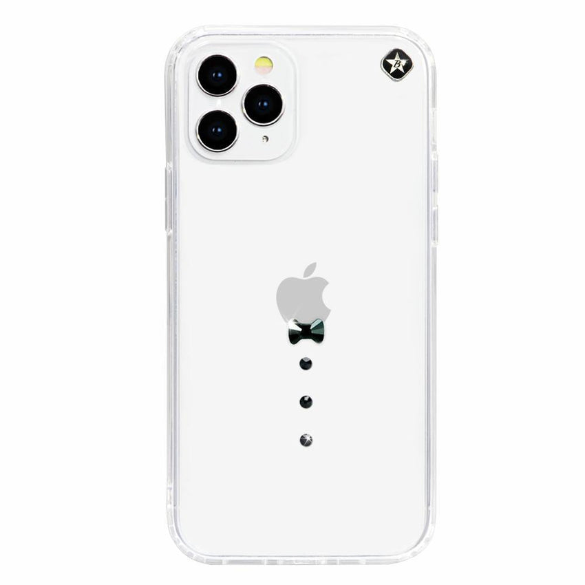 CASINO ᛫ CLEAR ᛫ Cover with Swarovski® Crystals for iPhone 12 Pro Max - Bling My Thing - Swarovski Protective iPhone Case