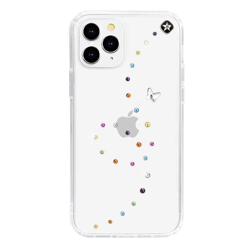 PAPILLON ᛫ CLEAR ᛫ Cover with Swarovski® Crystals for iPhone 12 Pro Max - Bling My Thing