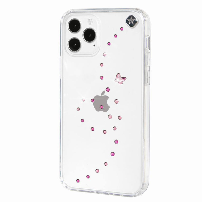 PAPILLON ᛫ CLEAR ᛫ Cover with Swarovski® Crystals for iPhone 12 Pro Max - Bling My Thing - Swarovski Protective iPhone Case