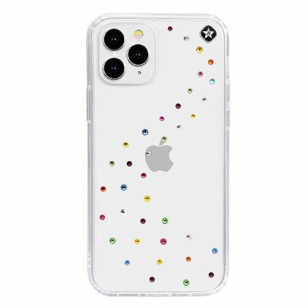 MILKY WAY ᛫ CLEAR ᛫ Cover with Swarovski® Crystals for iPhone 12 Pro Max - Bling My Thing