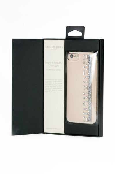 iPhone 7 Case Hermitage Series - Crystal inside Package - Bling My Thing