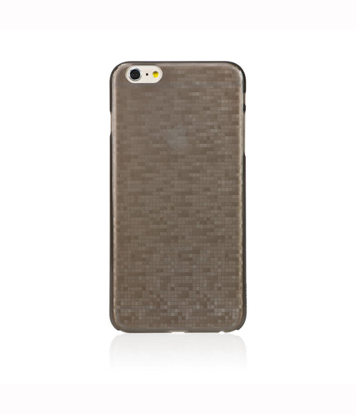 Mosaic Cappuccino, Brown, iPhone 6/6s Hard Case - Bling My Thing