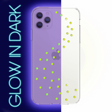 NEON MILKY WAY ᛫ CLEAR ᛫ Protective Cover with Swarovski® Crystals for iPhone 11 PRO MAX - Bling My Thing