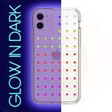 NEON mini EXTRAVAGANZA ᛫ CLEAR ᛫ Protective Cover with Swarovski® Crystals for iPhone 11 - Bling My Thing - Swarovski Protective iPhone Case