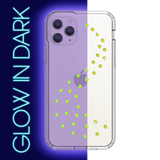 NEON MILKY WAY ᛫ CLEAR ᛫ Protective Cover with Swarovski® Crystals for iPhone 11 PRO - Bling My Thing