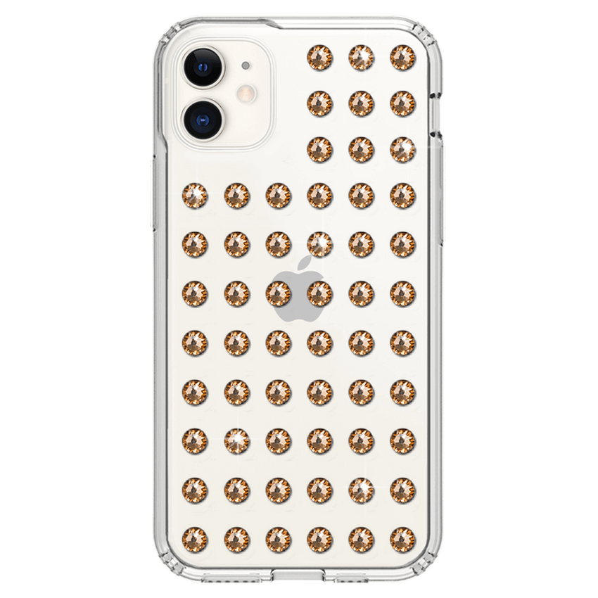 EXTRAVAGANZA ᛫ CLEAR ᛫ Protective Cover with Swarovski® Crystals for iPhone 11 - Bling My Thing