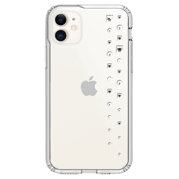 LUX ᛫ CLEAR ᛫ Protective Cover with Swarovski® Crystals for iPhone 11 - Bling My Thing - Swarovski Protective iPhone Case