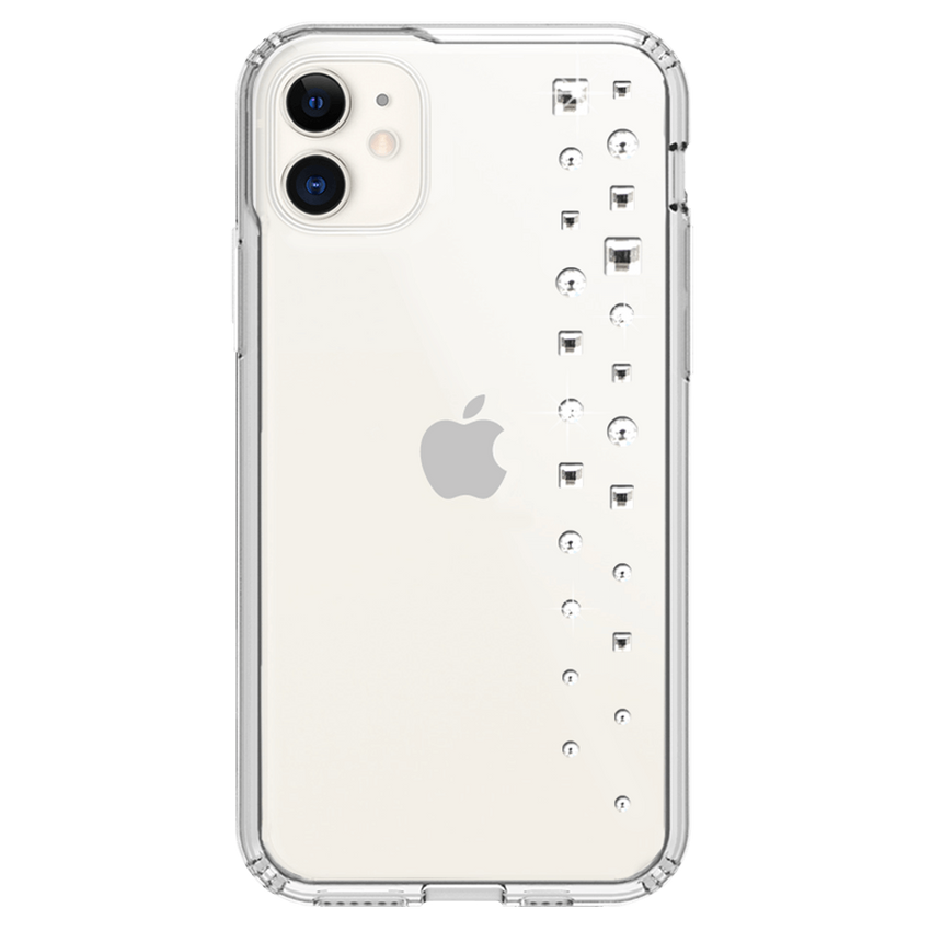 LUX ᛫ CLEAR ᛫ protective cover with Swarovski Crystals for iPhone 11 - Bling My Thing