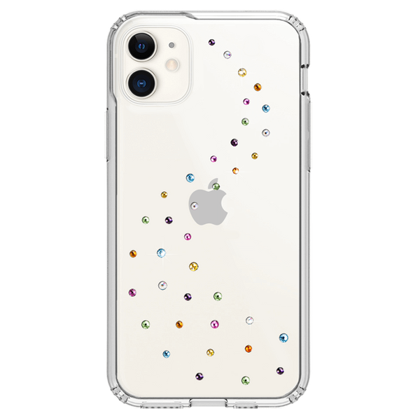 MILKY WAY ᛫ CLEAR ᛫ Protective Cover with Swarovski® Crystals for iPhone 11 - Bling My Thing