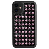 EXTRAVAGANZA ᛫ BLACK SHELL ᛫ Protective Cover with Swarovski® Crystals for iPhone 11 - Bling My Thing - Swarovski Protective iPhone Case