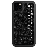 LUX ᛫ BLACK SHELL ᛫ protective cover with Swarovski Crystals for iPhone 11 - Bling My Thing