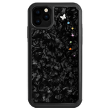 PAPILLON ᛫ BLACK SHELL ᛫ protective cover with Swarovski Crystals for iPhone 11 - Bling My Thing