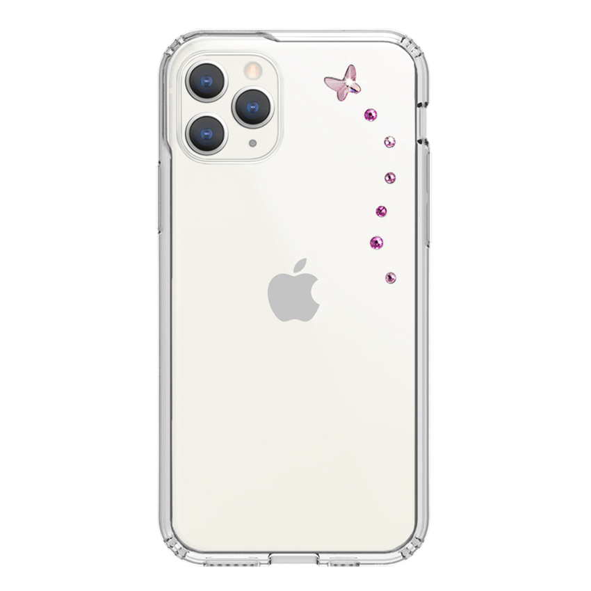 PAPILLON ᛫ CLEAR ᛫ Protective Cover with Swarovski® Crystals for iPhone 11 PRO - Bling My Thing - Swarovski Protective iPhone Case