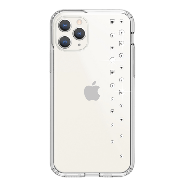 LUX ᛫ CLEAR ᛫ Protective Cover with Swarovski® Crystals for iPhone 11 PRO - Bling My Thing - Swarovski Protective iPhone Case
