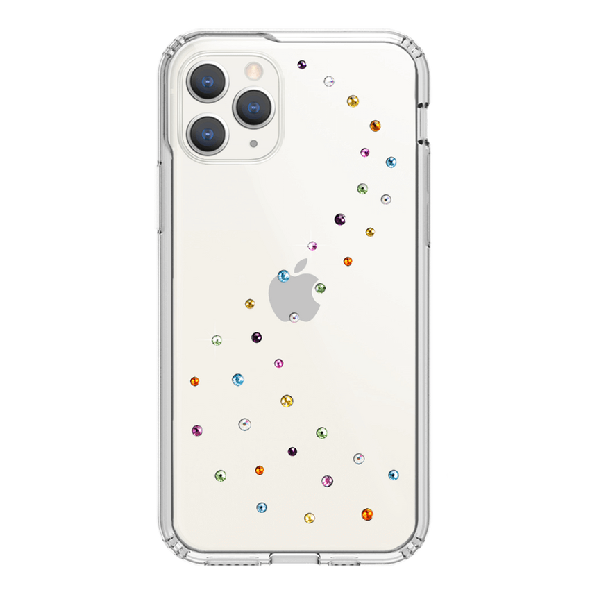 MILKY WAY ᛫ CLEAR ᛫ Protective Cover with Swarovski® Crystals for iPhone 11 PRO - Bling My Thing - Swarovski Protective iPhone Case