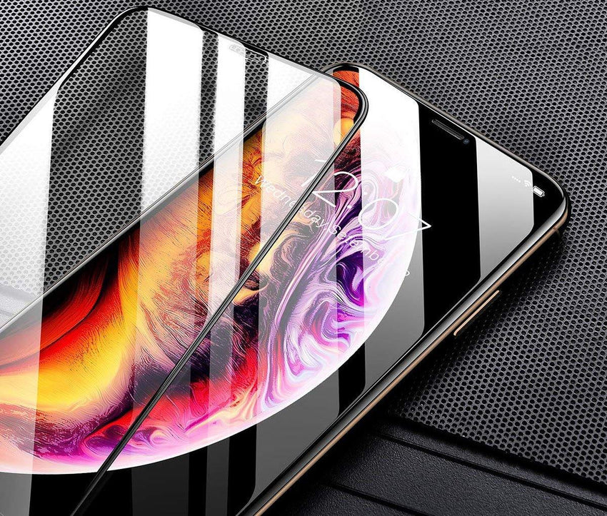 [0.33mm thick] 3D Tempered Glass Screen Protector 9H for iPhone XR - Bling My Thing