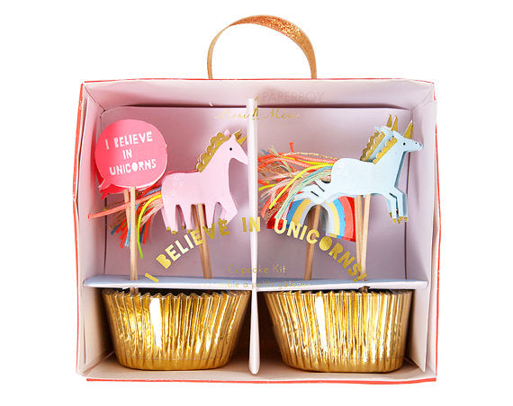 Unicorn - Cupcake Kit