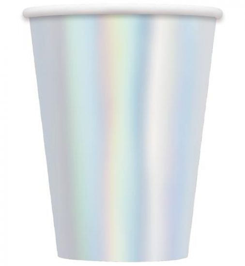 Large Iridescent Cups