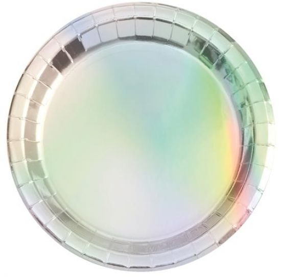 Iridescent Plates - large