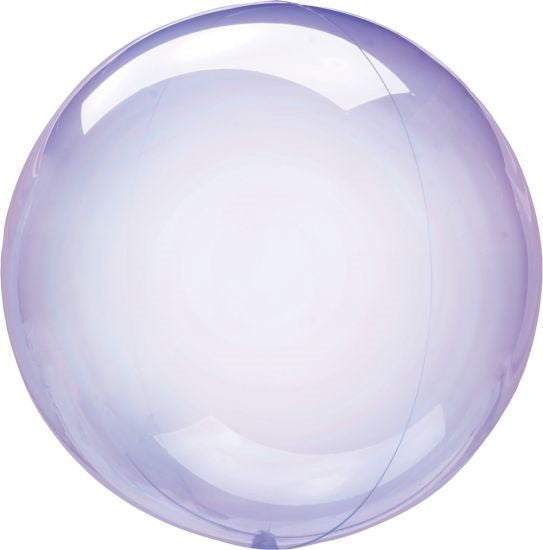Crystal Clearz Balloon - Purple