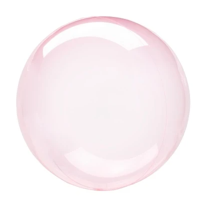 Crystal Clearz Balloon - Dark Pink