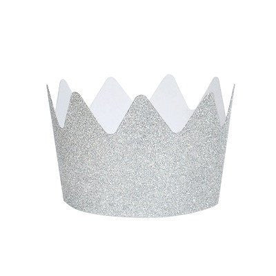 Silver Party Crown