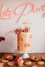 LEMON HIP HIP HOORAY - Cake Topper