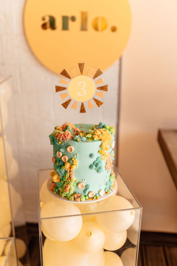 Ky and Co Creations x PMP - SUN - Cake Topper