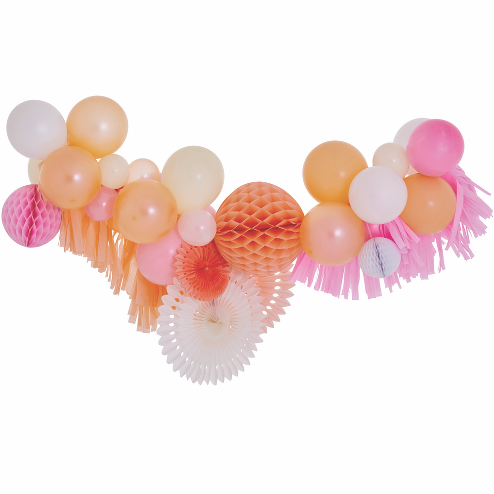 Blossom Fancy Balloon Garland
