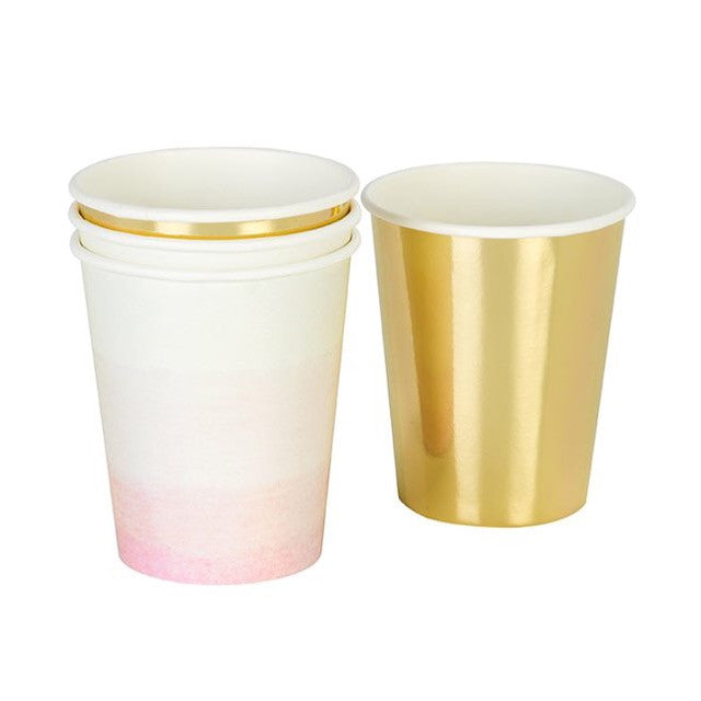 We Heart Pink Cups