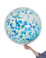 Jumbo Confetti Balloon - Handsome