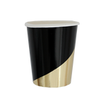 Noir - Colorblock Party Cups