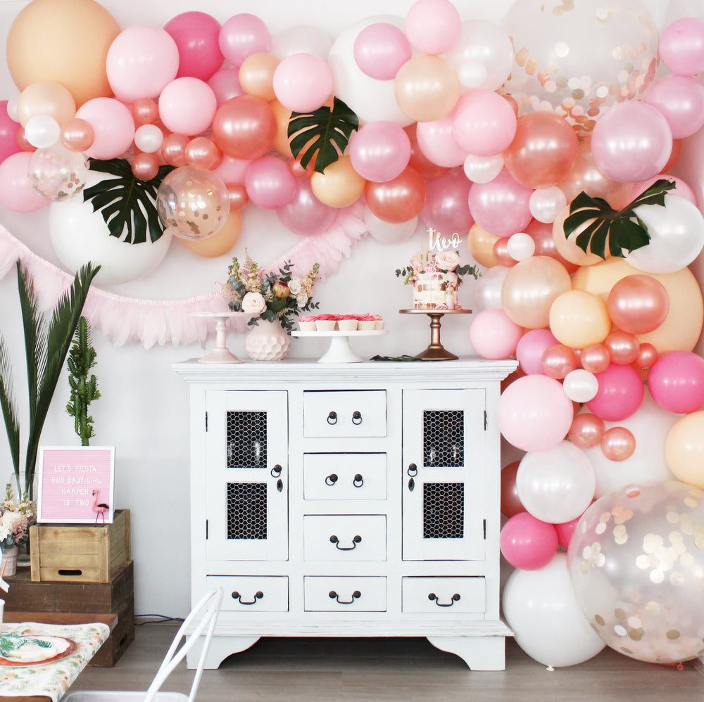 Parties Made Pretty - 'Keep Them Blushing' Balloon Garland Kit