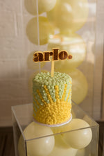 Ky and Co Creations x PMP - NAME - Cake Topper