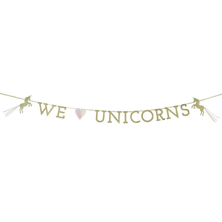 We Heart Unicorns Garland