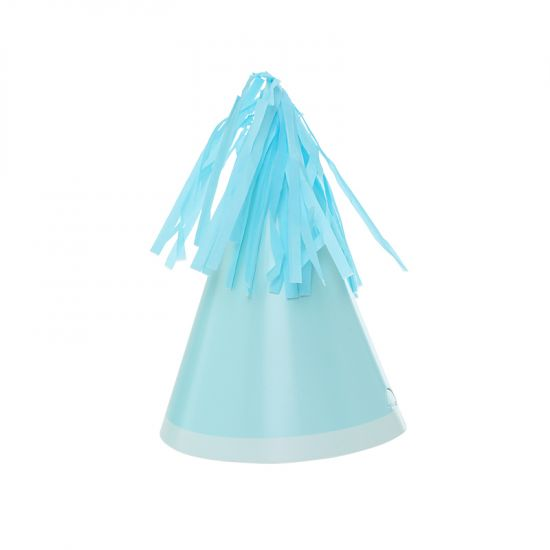 Party Hat with Tassel Topper - Pastel Blue