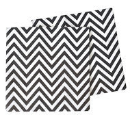 Chevron Black Napkin - Pack of 20