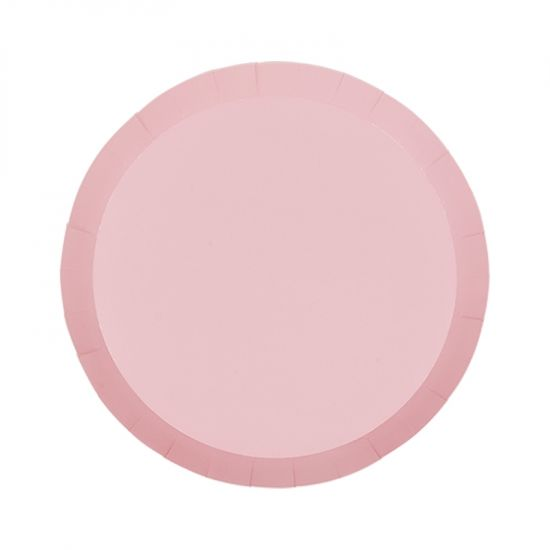 Pastel Pink Snack Plates