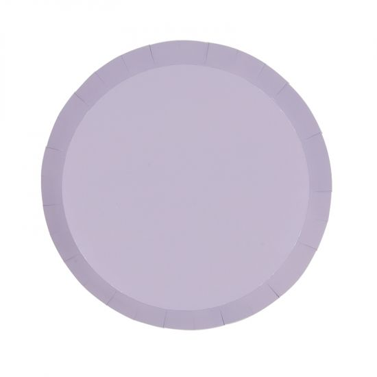 Pastel Lilac Snack Plates