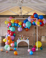Large Rainbow Balloon Garland