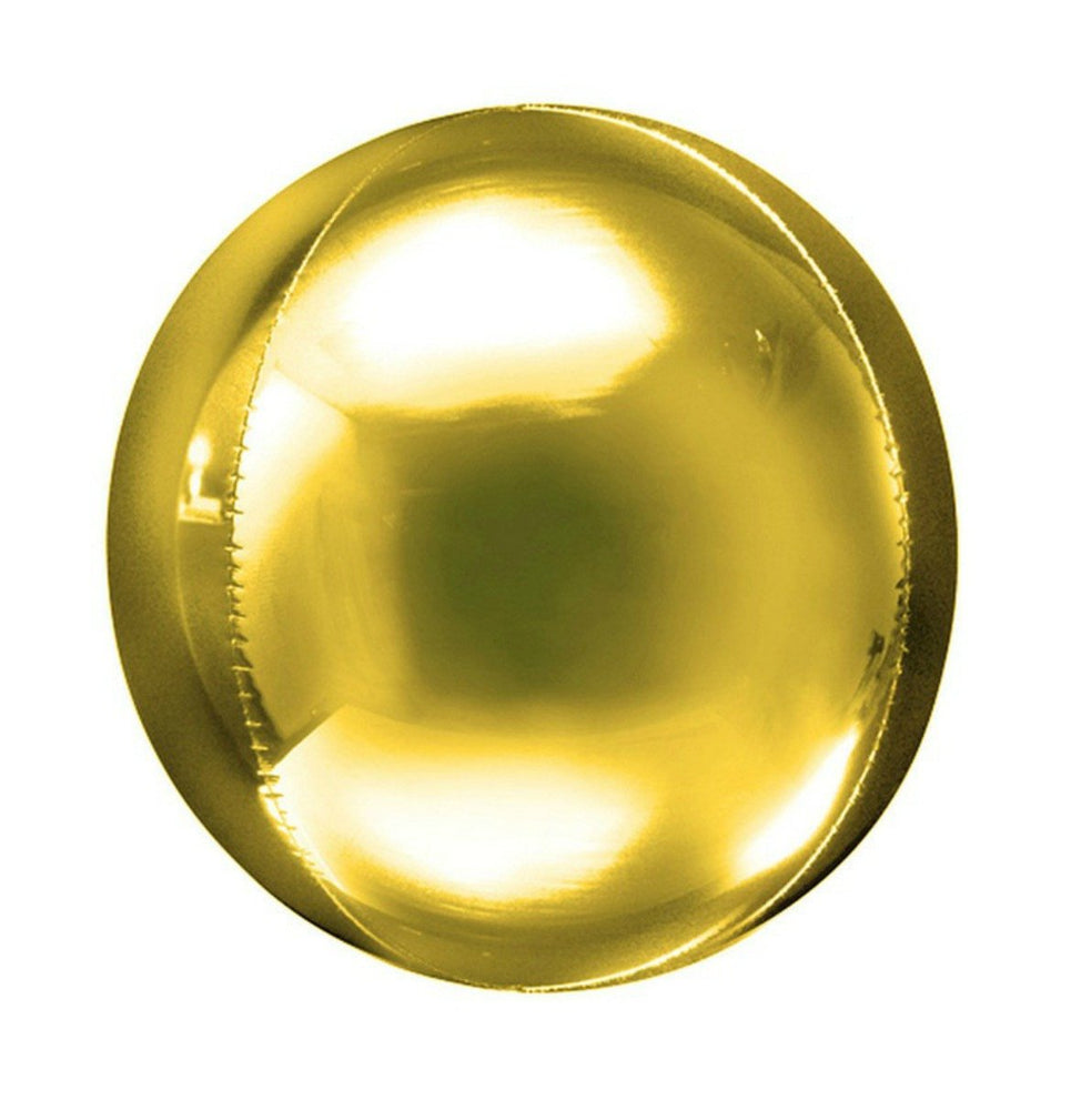 Orbz Balloon - Gold
