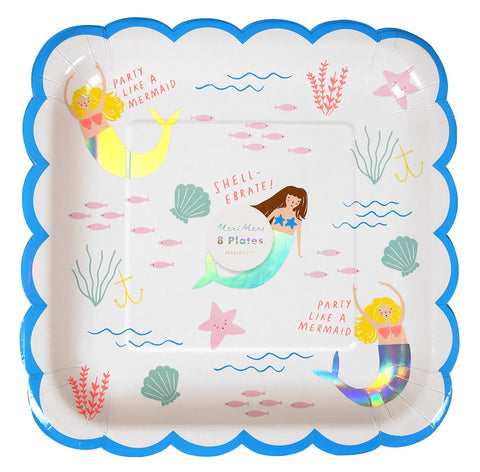 Lets Be Mermaids - Plate