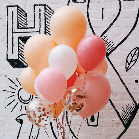 Parties Made Pretty - 'Keep Them Blushing' Balloon Set