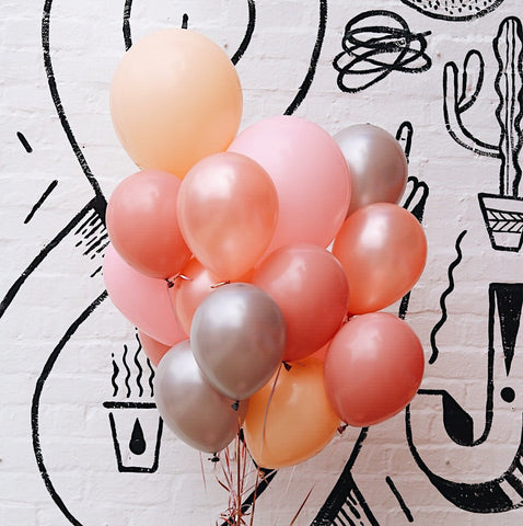 Parties Made Pretty - 'Rosewood' Balloon Set